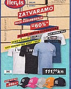 Hervis katalog Zatvaranje City East i West