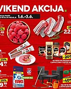 Konzum vikend akcija do 3.6.