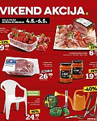 Konzum vikend akcija do 6.5.