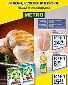 Metro katalog prehrana Osijek Varaždin do 30.5.
