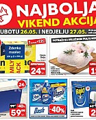 Plodine vikend akcija do 27.5.