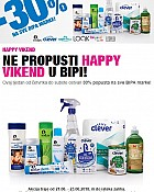 Bipa vikend akcija do 23.6.