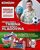 Konzum katalog  Nogometna ponuda