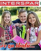 Interspar katalog Škola 2018