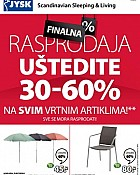 JYSK katalog Rasprodaja do 15.8.