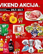 Konzum vikend akcija do 22.7.