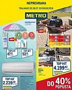 Metro katalog neprehrana Zagreb do 8.8.