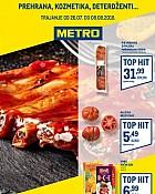 Metro katalog prehrana Zagreb do 8.8.
