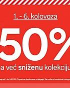 C&A acija -50% popusta na sniženu kolekciju