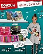 Konzum katalog Škola 2018