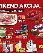 Konzum vikend akcija do 12.8.
