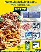 Metro katalog prehrana Osijek Varaždin do 5.9.