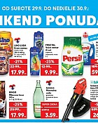 Kaufland vikend akcija do 30.9.
