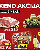 Konzum vikend akcija do 23.9.