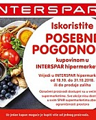 Interspar kuponi prehrana listopad 2018
