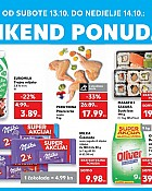 Kaufland vikend akcija do 14.10.
