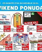 Kaufland vikend akcija do 28.10.