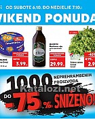 Kaufland vikend akcija do 7.10.
