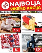 Plodine vikend akcija do 21.10.