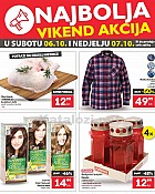 Plodine vikend akcija do 7.10.