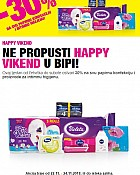Bipa vikend akcija do 24.11.