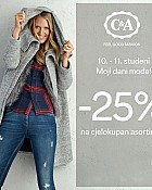 C&A akcija -25% popusta na cjelokupan asortiman