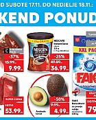 Kaufland vikend akcija do 18.11.