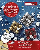Konzum katalog Advent 2018.