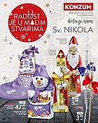 Konzum katalog Sveti Nikola 2018