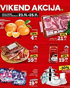 Konzum vikend akcija do 25.11.