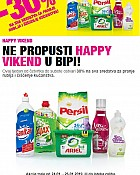 Bipa vikend akcija do 26.1.