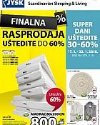 JYSK katalog Finalna rasprodaja siječanj