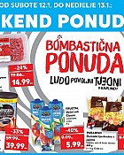 Kaufland vikend akcija do 13.1.