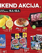 Konzum vikend akcija do 13.1.