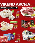 Konzum vikend akcija do 6.1.