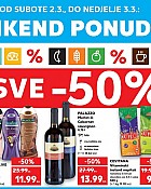 Kaufland vikend akcija do 3.3.
