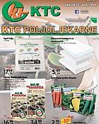KTC katalog Poljoljekarne do 20.2.