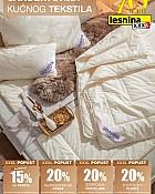 Lesnina katalog Kućni tekstil do 28.2.
