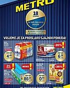 Metro katalog Posebna ponuda za 18 godina