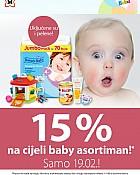 Muller akcija -15% na baby asortiman veljača 2019