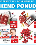 Kaufland vikend akcija do 31.3.
