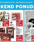 Kaufland vikend akcija do 28.4.