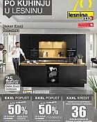 Lesnina katalog Kuhinje do 13.5.