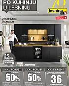 Lesnina katalog Kuhinje Zagreb Pula do 13.5.