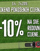 Pevec vikend akcija do 7.4.