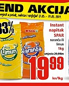 Interspar vkend akcija do 19.5.