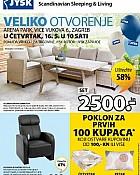 JYSK katalog Otvorenje Arena park