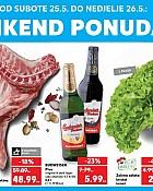 Kaufland vikend akcija do 26.5.