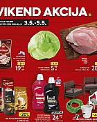 Konzum vikend akcija do 5.5.