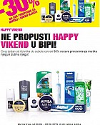 Bipa vikend akcija do 8.6.